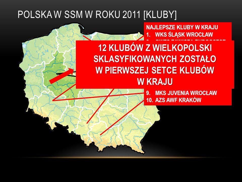 POLSKA W SSM W ROKU 2011 [KLUBY]